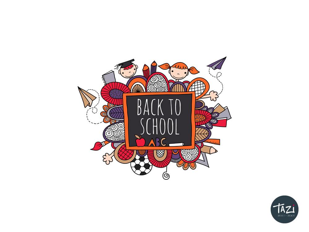 Tazi back to school
