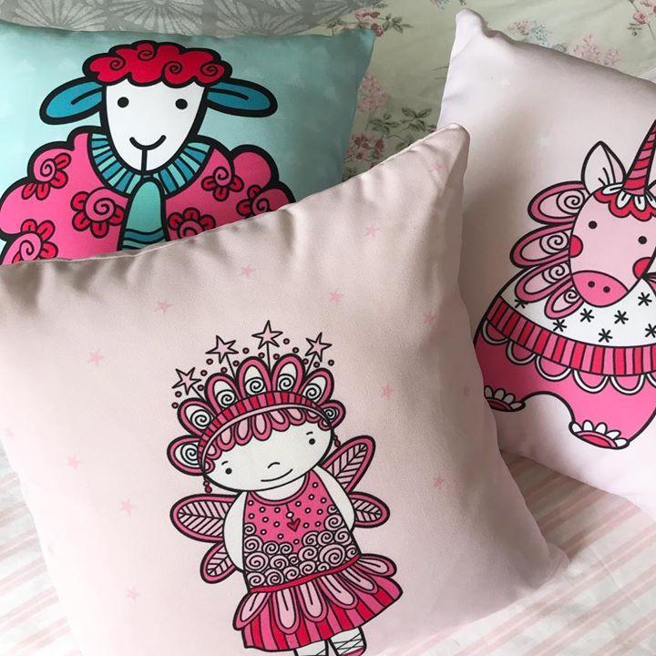 Tazi cute cushions