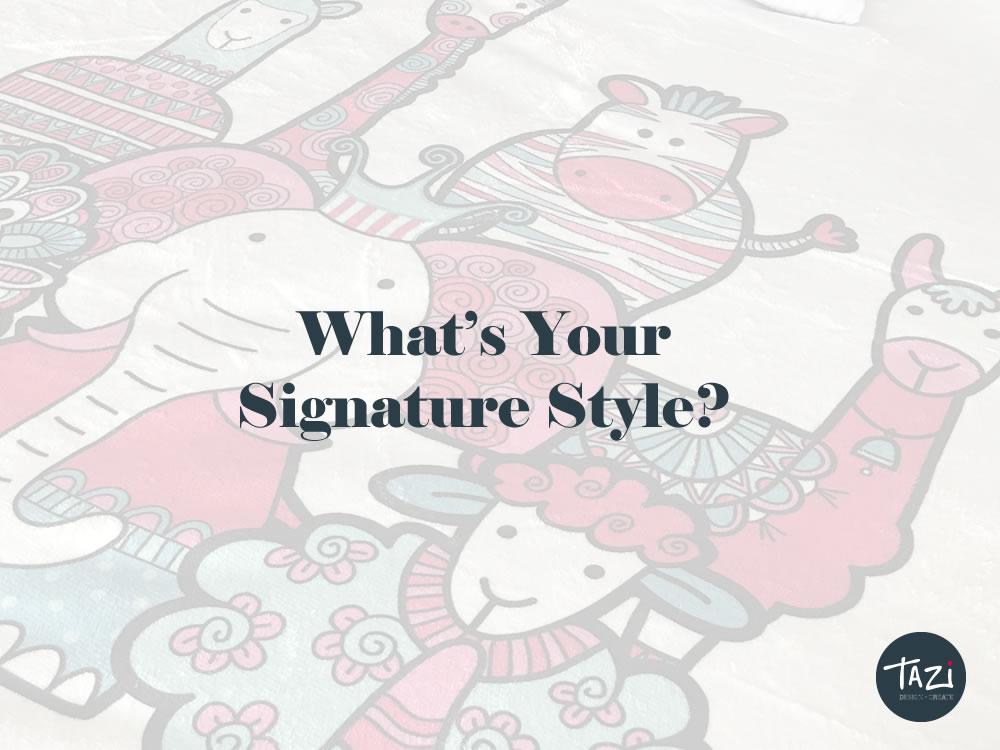 Tazi signature style