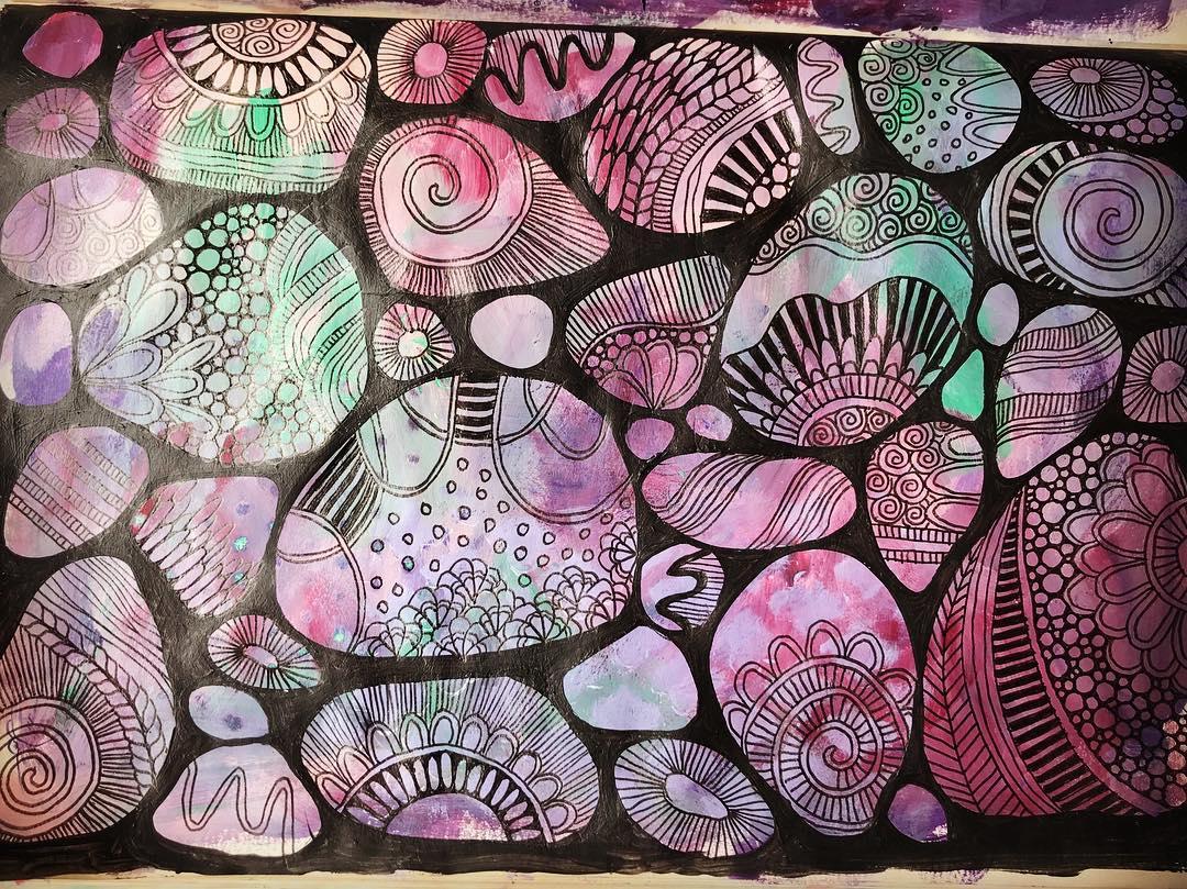 Tazi rock-doodles-blk