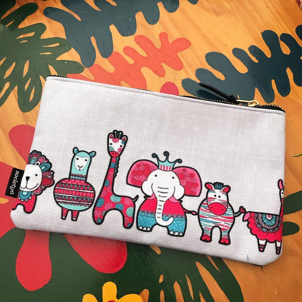 Tazi pouch-doodle-critters