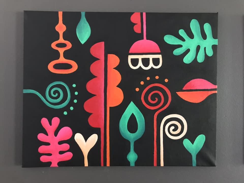 Tazi painting