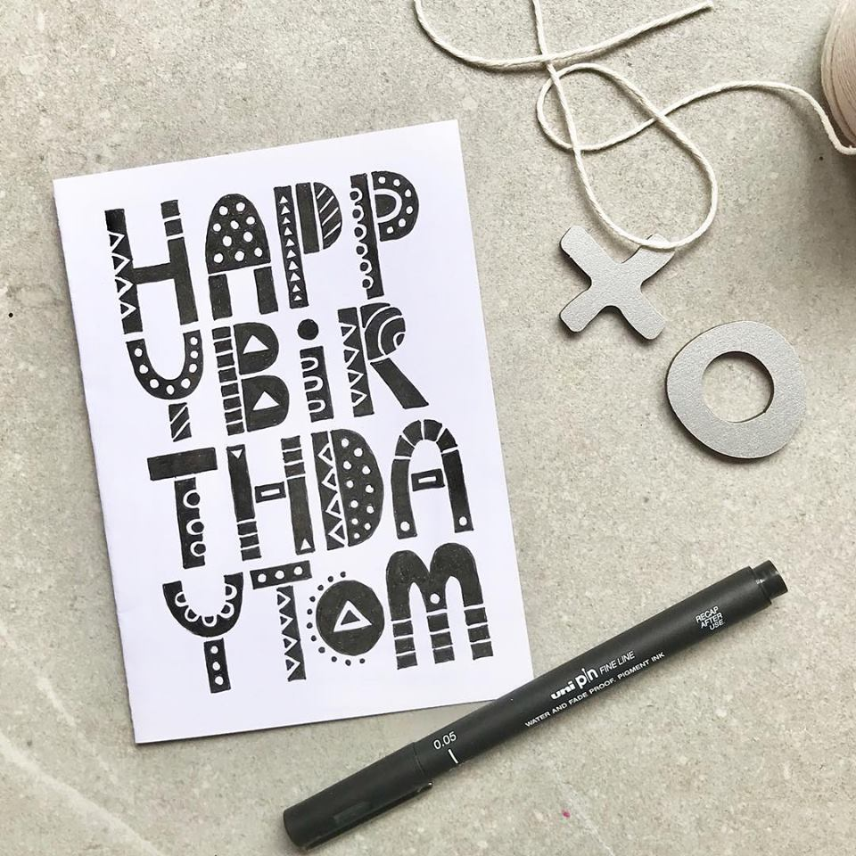 Tazi Birthday Card