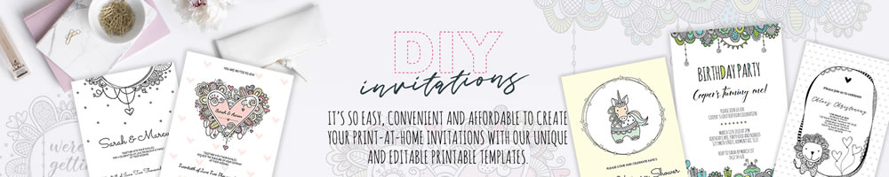 DIY Graphics, Invitations & Printables