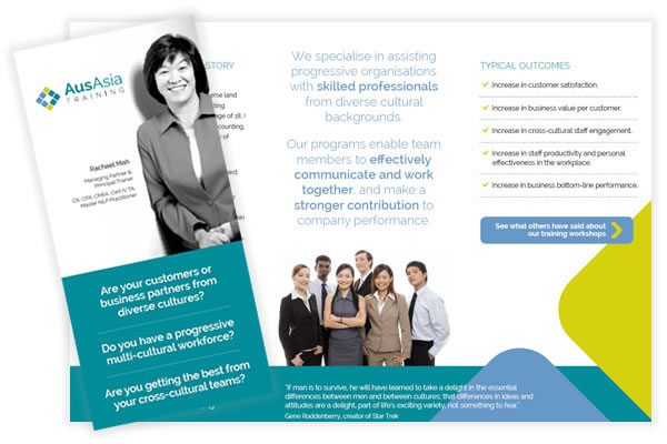 AusAsia Training Flyer