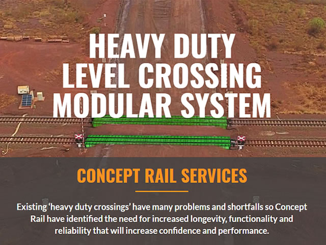 Concept Rail Services Website