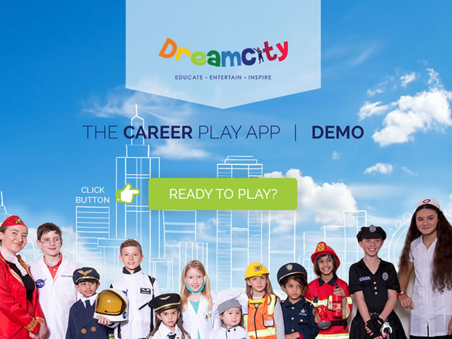 Design & Create Dreamcity App Demo