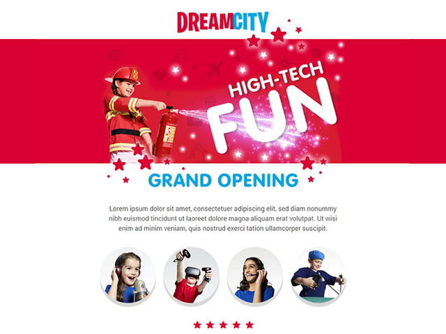 DreamCity Email Templates