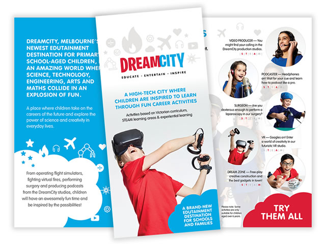 DreamCity DL Flyers
