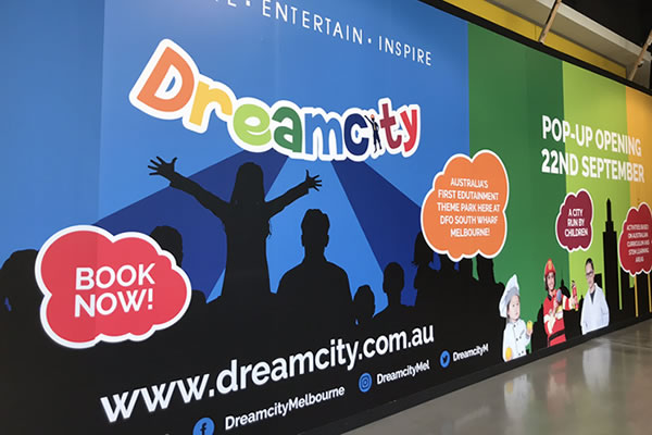 Dreamcity Hoarding for Construction Site