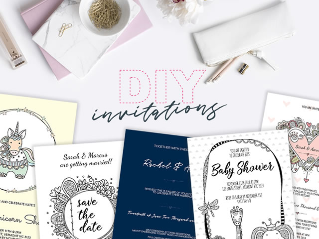 DIY Invitations Website