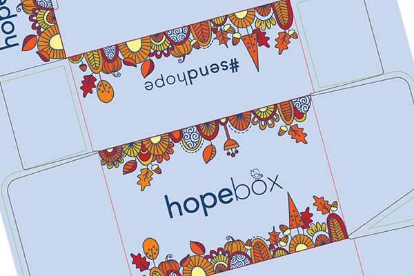 Hopebox Packaging Illustration Fall