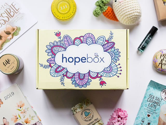 Hopebox Packaging Illustration