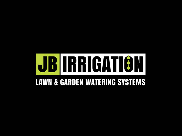 JB Irrigation Logo, Cards and Sign
