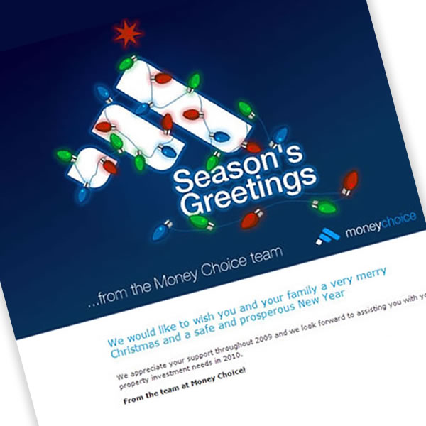 Money Choice Xmas Email