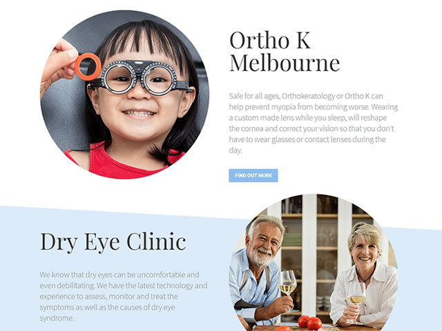 Ortho K Group Website