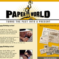 Paperworld Web and Email