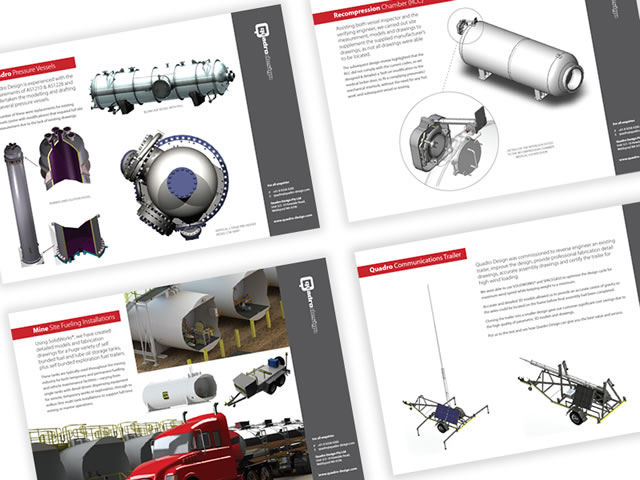 Quadro Design Project PDFs & Flyers