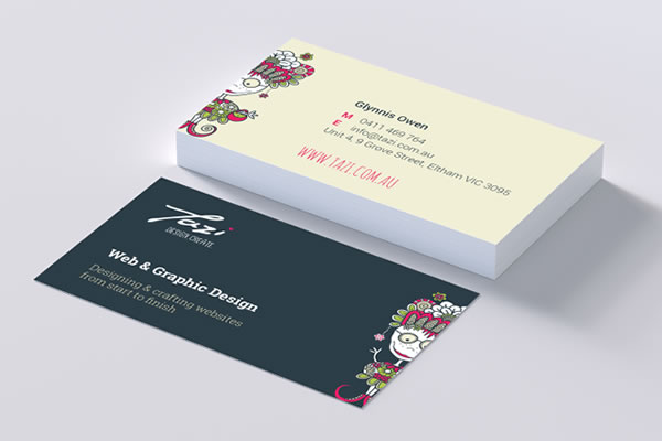 Tazi Business Cards