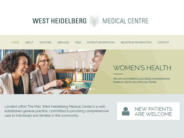 West Heidelberg Medical Centre Website
